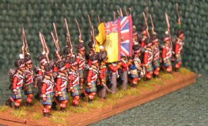15mm, Napoleonic British 92nd (Gordon) Highlanders AB 24 Figures